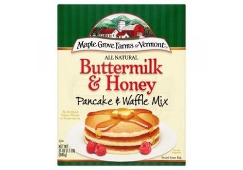 Maple Grove Farms of Vermont Buttermilk & Honey Pancake Mix, 681g