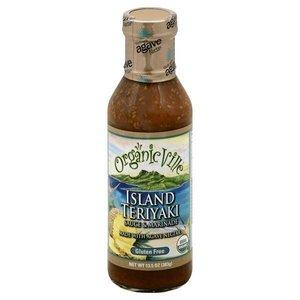 Organic Ville Island Teriyaki Sauce & Marinade, 383g