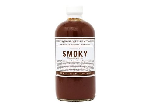 Lillie's Smoky Memphis Style BBQ Sauce, 595g