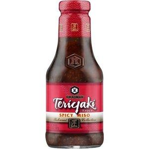 Kikkoman Teriyaki Spicy Miso Sauce, 581g