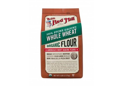 Bob's Red Mill Whole Wheat Organic Flour, 1.36kg