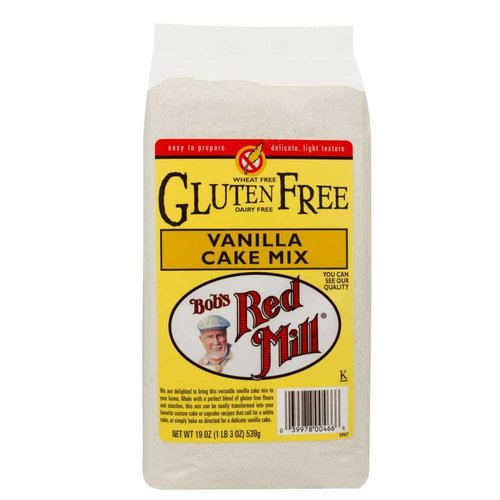 Bob's Red Mill Gluten Free Vanilla Cake Mix, 539g