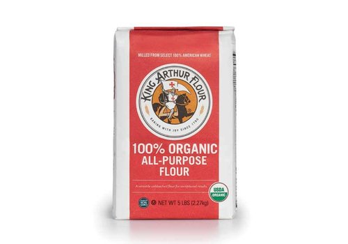 King Arthur Flour Organic Unbleached All-Purpose Flour, 2.27kg