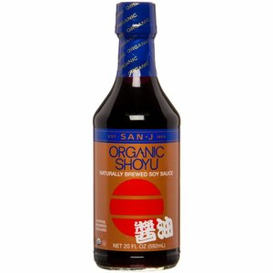 San-J Organic Shoyu, 592ml