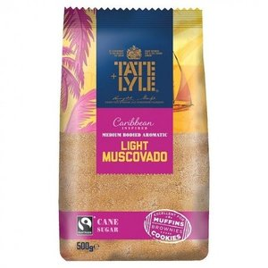 Tate & Lyle Light Muscovado Sugar, 500g