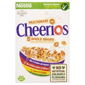 Nestle Cheerios Multigrain Whole Grain,  375g