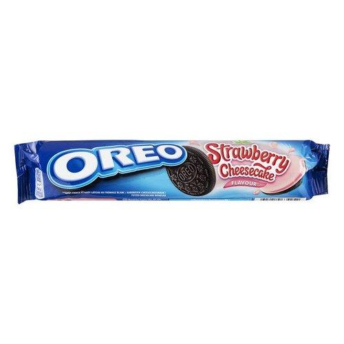 Oreo Strawberry Cheesecake Biscuits, 154g
