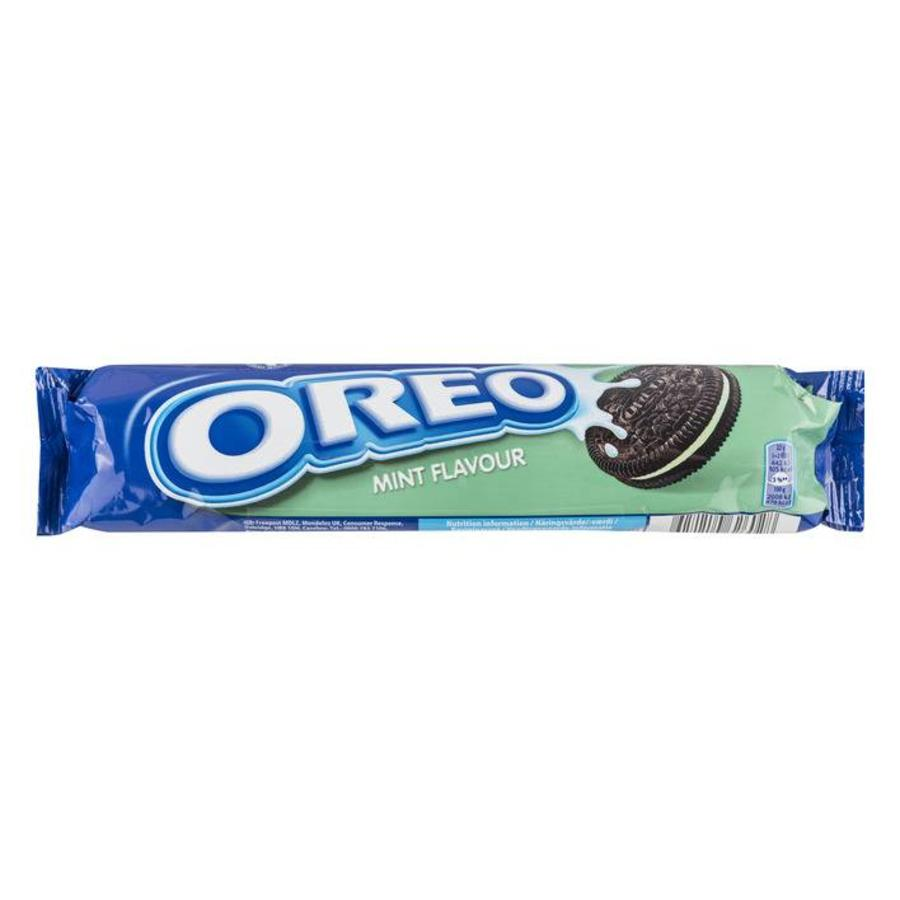 Oreo Mint Biscuits, 154g