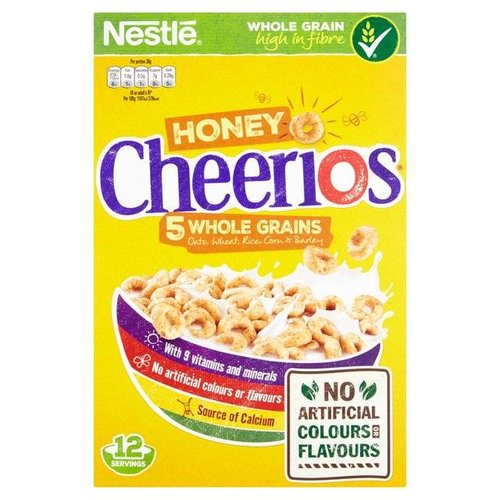 Nestle Honey Cheerios, 375g