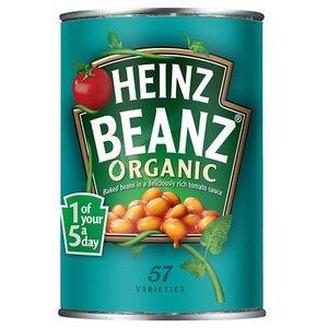 Heinz Organic Baked Beans, 415g