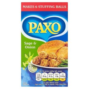 Paxo Sage & Onion Stuffing, 85g