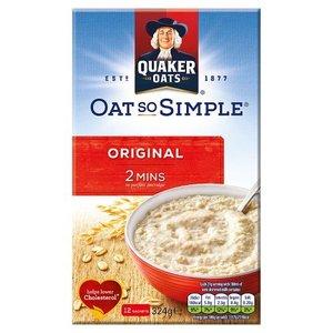 Quaker Oat So Simple Original, 216g