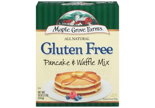 Maple Grove Farms of Vermont Gluten Free Pancake Mix, 454g