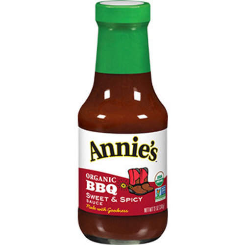 Annie's Organic BBQ Sauce Sweet & Spicy, 340g