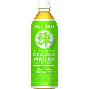 All Zen Organic Matcha Green Tea, 500ml