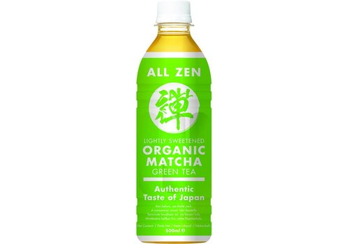 All Zen Organic Matcha Green Tea, 500ml