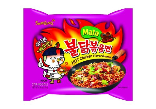 Samyang MALA Hot Chicken Ramen, 135g