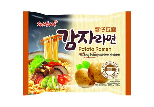Samyang Potato Ramen, 120g