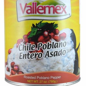 Vallemex Chile Poblano, 780g