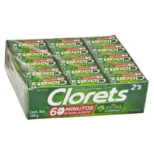 Clorets Bubble Gum Pack