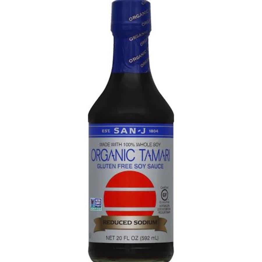 Organic Tamari Reduced Sodium Soy Sauce, 592ml