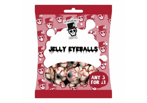 Dr. Wishbones Jelly Eyeballs, 50g