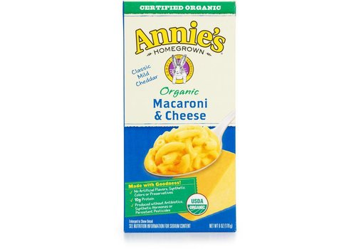 Annie's Organic Mac & Cheese, 170g