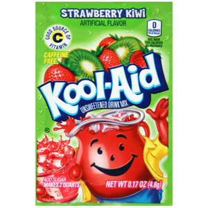 Kool Aid Strawberry Kiwi, 4g
