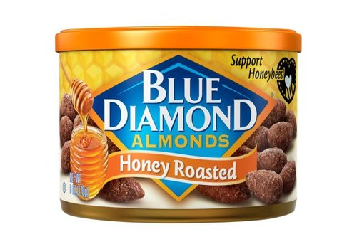 Blue Diamond Honey Roasted Almonds, 170g