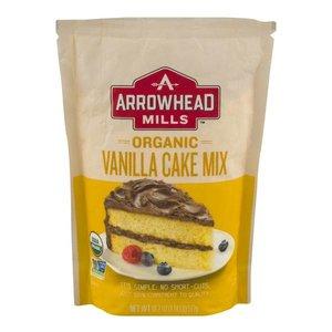 Arrowhead Mills Organic Vanilla Cake Mix, 517g