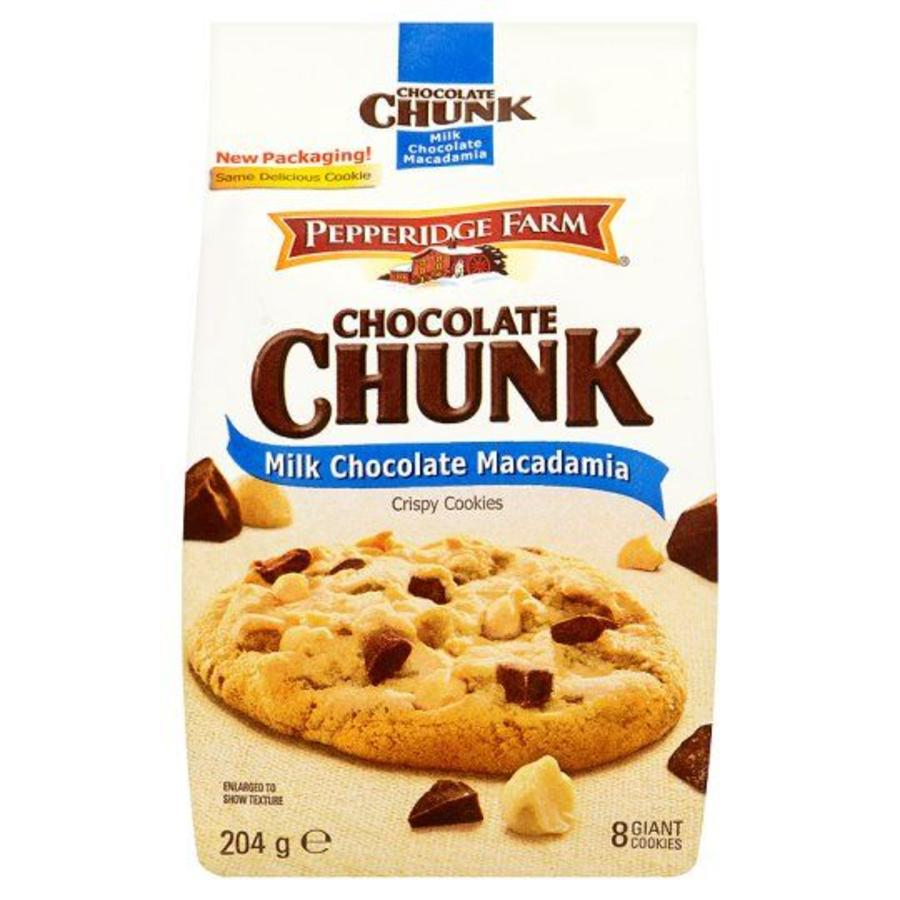 Milk Chocolate Macadamia Cookies, 204g