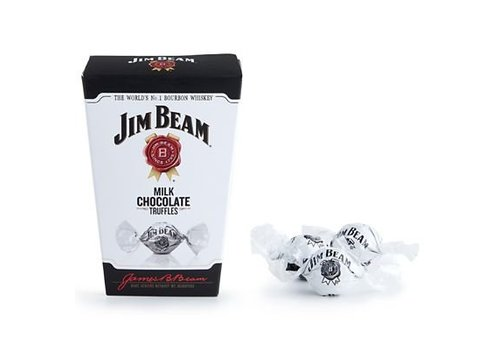 Jim Beam Milk Chocolate Truffles, 130g