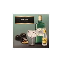 Gin & Tonic Dark Chocolate Liqueurs