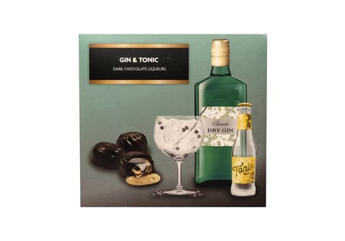 Gin & Tonic Dark Chocolate Liqueurs