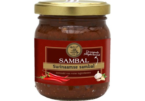 Spice it Surinamese Sambal, 200g