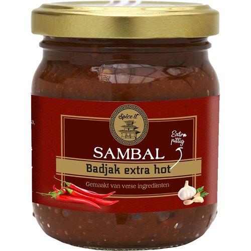 Spice it Sambal Badjak Extra Hot, 200g