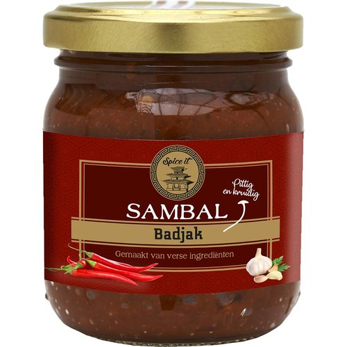 Spice it Sambal Badjak, 200g