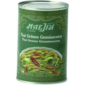 Maejin Green Curry With Vegetables, 410g