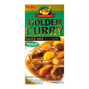 S&B Golden Curry Medium Hot, 92g