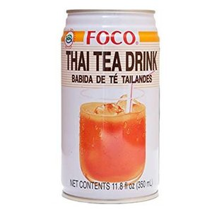 Foco Foco Thai Tea Drink, 350ml