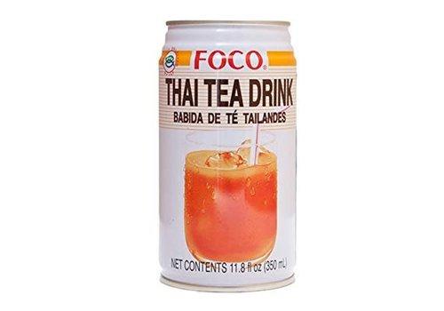 Foco Thai Tea Drink, 350ml