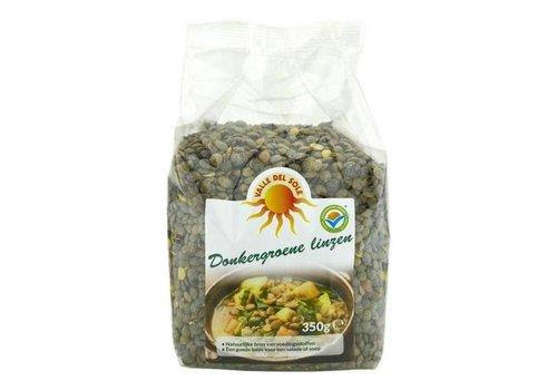 Valle Del Sole Darkgreen Lentils, 350g