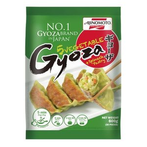 Ajinomoto Vegetable Gyoza Spinach, 600g