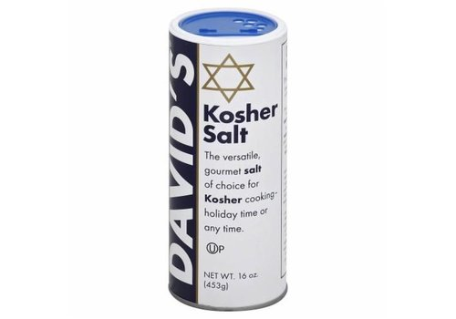 David's Kosher Salt, 454g