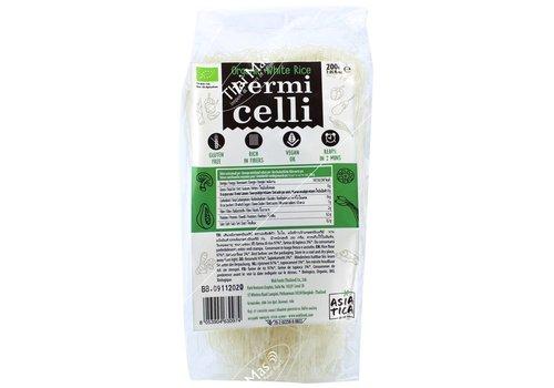 Asiatica Organic White Rice Vermicelli, 200g