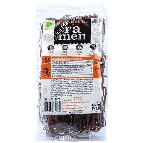 Asiatica Organic Black Rice Ramen, 200g