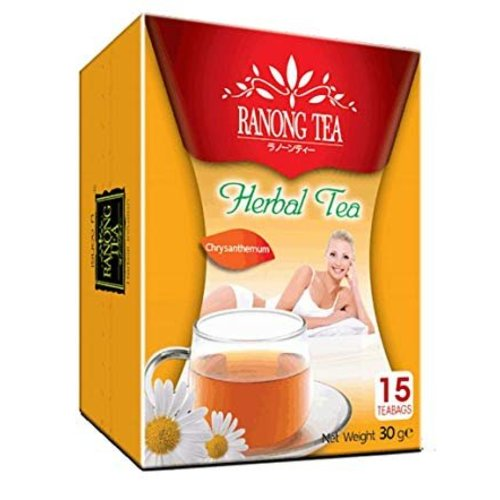 Ranong Tea Herbal Infusion Chrysanthemum Tea , 15x2g
