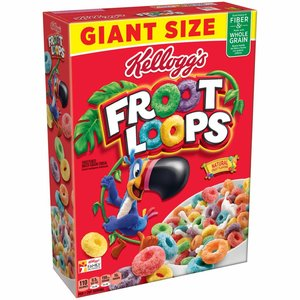 Kellogg's Froot Loops Giant Size, 737g