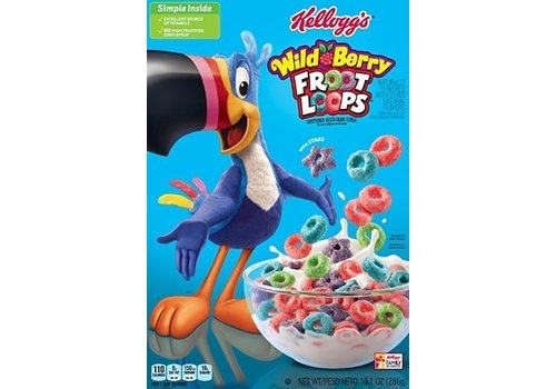 Kellogg's Wild Berry Froot Loops, 286g