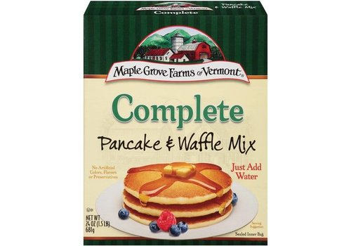 Maple Grove Farms of Vermont Complete Pancake & Waffle Mix, 681g